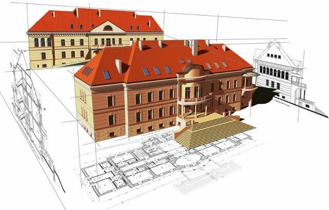 We produce CAD drawings for construction and industrial use.